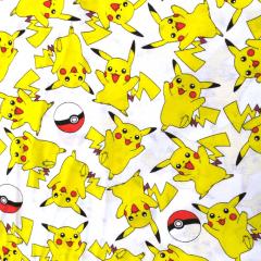 Tecido Tricoline Misto Pokémon