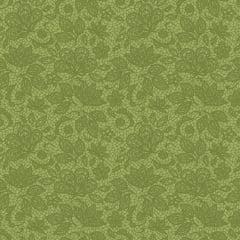 Tecido Tricoline Renda Verde Grama