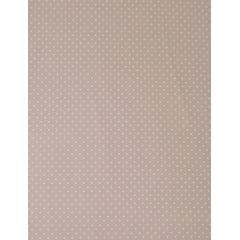 Tecido Tricoline Rosa Antigo Mini Poa Branco Caldeira
