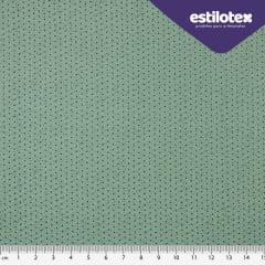 Tecido Tricoline Poá Chic Verde Esmeralda