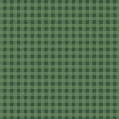 Tecido Tricoline Xadrez Verde Musgo