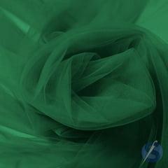 Tule Tradicional 034 Verde Esmeralda Metro