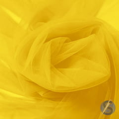 Tule Tradicional 035 Amarelo Gema Metro