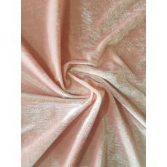 Tecido Veludo Plush Cor Rosa Bebê