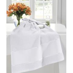 Toalha Banho Felpudo Multi Arte III Branco