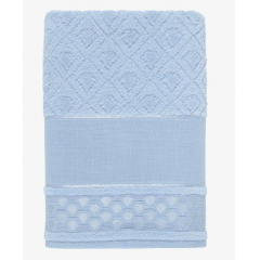 Toalha Banho para Bordar Alice Baby Blue Karsten
