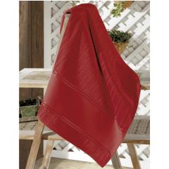 Toalha Lavabo Velour Artesanalle  vermelho