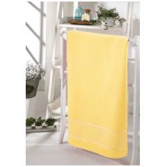 Toalha Lavabo Velour Para Bordar Bella Amarelo