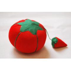 Almofada Porta Alfinete em Formato de Tomate