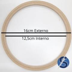 Bastidor MDF Sem Tarraxa 16 cm de Diâmetro