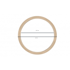 Bastidor MDF Sem Tarraxa 22 cm de Diâmetro