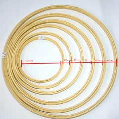 Bastidor Sem Tarraxa - 15cm de Diâmetro