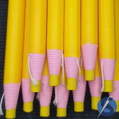 Lápis Giz Ecológico Amarelo Unidade