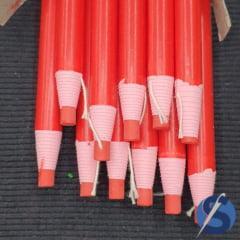Lápis Giz Ecológico Vermelho Unidade