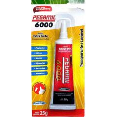 Cola Pegamil 6000 Adesivo Extra Forte 60 Gr