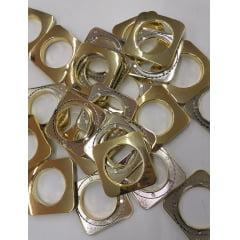 Ilhós 9134 Quadrado 40 mm Dourado