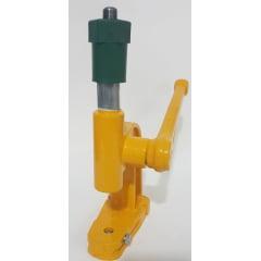 Maquina para Forrar Botões Cor Amarela