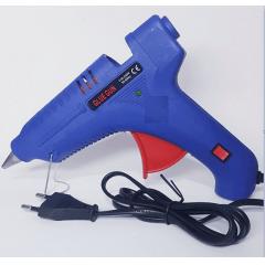 Pistola de Cola Quente Grande Silicone 60w Bivolts