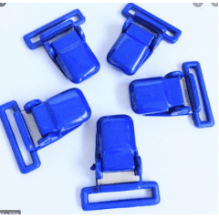 Presilha Jacaré Azul Bic