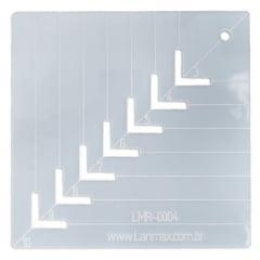 Régua Caixa de Leite 10 cm x 10 cm