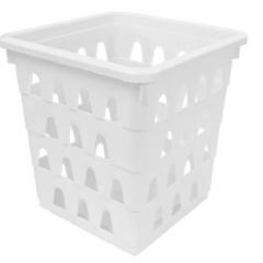 Cesto Organizador Multiuso Quadrado Branco