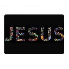 Jogo Americano Jesus 4 unidades