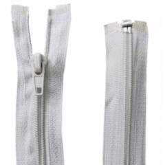 Zíper Destacável Branco 50 Cm