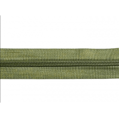 Zíper Nylon Nº5  em Metro Verde Musgo