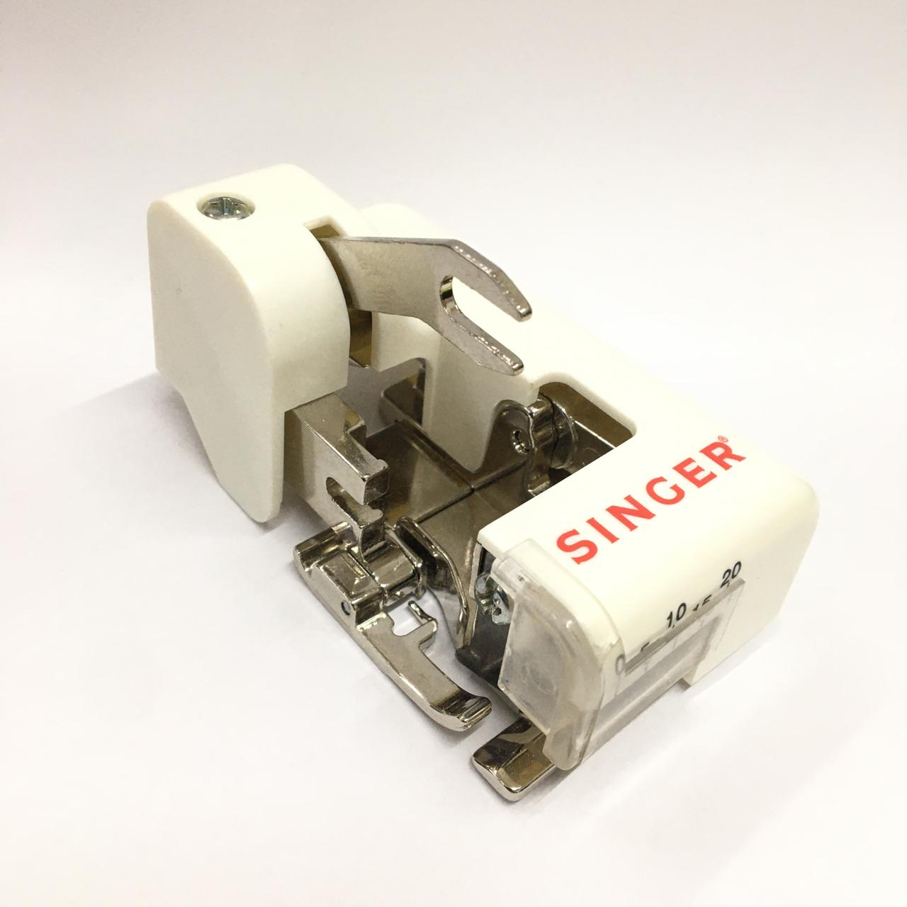 Calcador para Overlock com Faca Domestica - Maquina Domestica